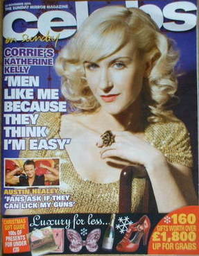 <!--2008-11-23-->Celebs magazine - Katherine Kelly cover (23 November 2008)