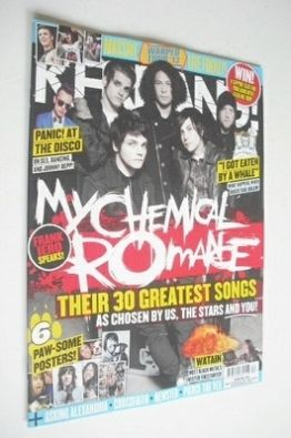 <!--2013-07-27-->Kerrang magazine - My Chemical Romance cover (27 July 2013