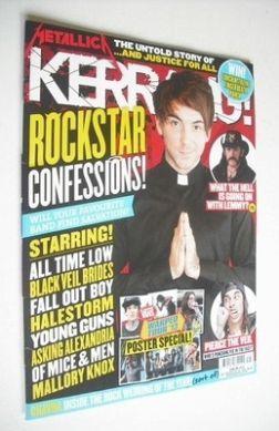 <!--2013-07-20-->Kerrang magazine - Rockstar Confessions cover (20 July 201