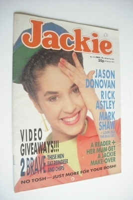 <!--1989-03-18-->Jackie magazine - 18 March 1989 (Issue 1315)