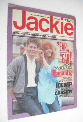 <!--1985-09-21-->Jackie magazine - 21 September 1985 (Issue 1133)