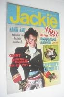 <!--1981-11-21-->Jackie magazine - 21 November 1981 (Issue 933 - Adam Ant cover)
