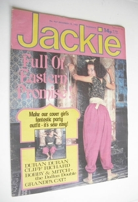 <!--1981-12-19-->Jackie magazine - 19 December 1981 (Issue 937)