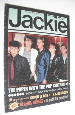 <!--1984-07-21-->Jackie magazine - 21 July 1984 (Issue 1072 - Duran Duran c