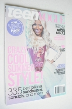 Teen Vogue magazine - June/July 2013 - Nicki Minaj cover