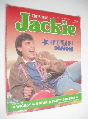 <!--1986-12-27-->Jackie magazine - 27 December 1986 (Issue 1199 - Simon O'B