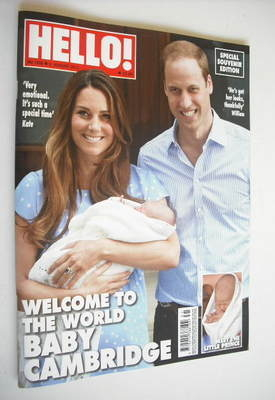 <!--2013-08-05-->Hello! magazine - The Duke and Duchess of Cambridge and Ba