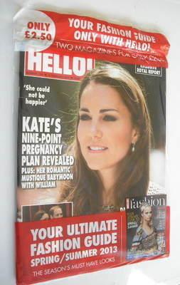 <!--2013-02-18-->Hello! magazine - Kate Middleton cover (18 February 2013 -