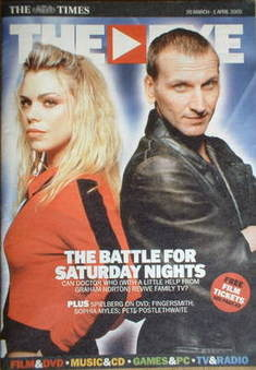 The Eye magazine - Christopher Eccleston and Billie Piper cover (26 March 2005)