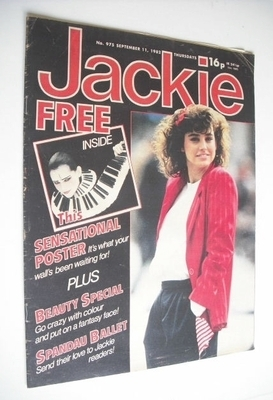 <!--1982-09-11-->Jackie magazine - 11 September 1982 (Issue 975)