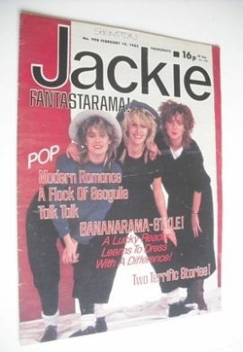 <!--1983-02-19-->Jackie magazine - 19 February 1983 (Issue 998)