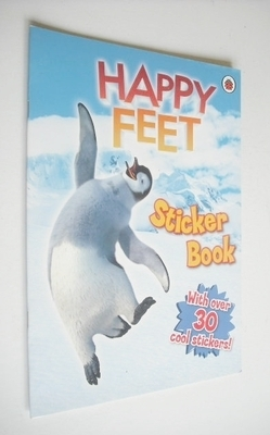 Happy Feet Sticker Book