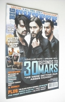 Big Cheese magazine - July 2013 - 30 Seconds To Mars cover
