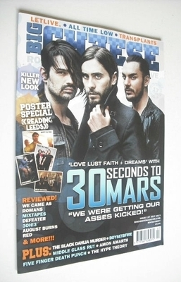 <!--2013-07-->Big Cheese magazine - July 2013 - 30 Seconds To Mars cover
