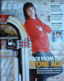 Live magazine - Ian Brown cover (21 May 2006)