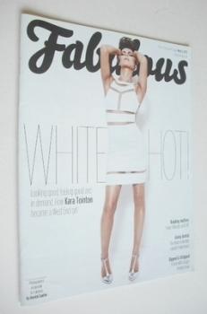 Fabulous magazine - Kara Tointon cover (5 May 2013)