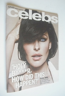 <!--2013-05-19-->Celebs magazine - Emma Willis cover (19 May 2013)