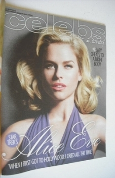 Celebs magazine - Alice Eve cover (26 May 2013)