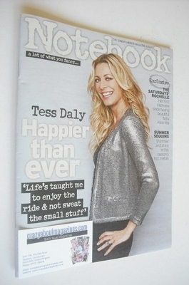 <!--2013-06-30-->Notebook magazine - Tess Daly cover (30 June 2013)