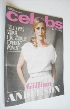 Celebs magazine - Gillian Anderson cover (2 June 2013)