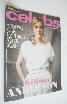 <!--2013-06-02-->Celebs magazine - Gillian Anderson cover (2 June 2013)