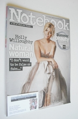 <!--2013-07-07-->Notebook magazine - Holly Willoughby cover (7 July 2013)