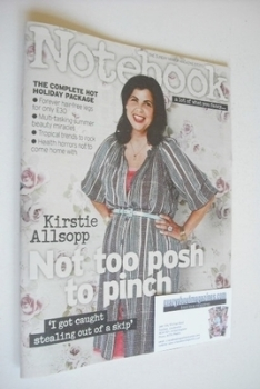 Notebook magazine - Kirstie Allsopp cover (21 July 2013)