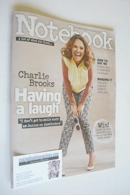 <!--2013-07-28-->Notebook magazine - Charlie Brooks cover (28 July 2013)