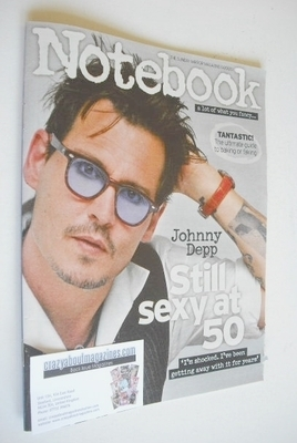 <!--2013-08-04-->Notebook magazine - Johnny Depp cover (4 August 2013)