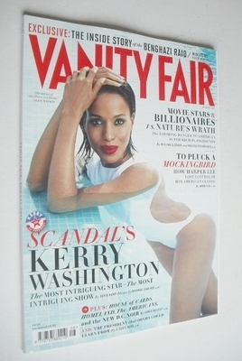 <!--2013-08-->Vanity Fair magazine - Kerry Washington cover (August 2013)