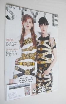 Style magazine - Viva Versace cover (12 May 2013)