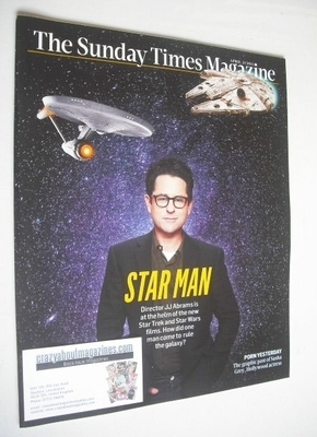 <!--2013-04-21-->The Sunday Times magazine - JJ Abrams cover (21 April 2013