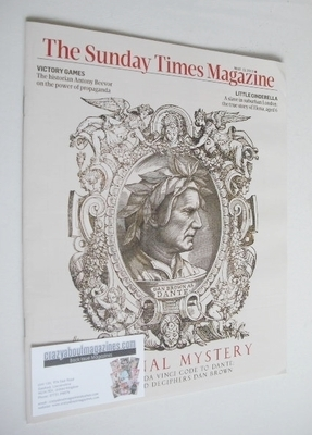 <!--2013-05-12-->The Sunday Times magazine - Dan Brown cover (12 May 2013)