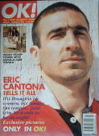 <!--1996-10-27-->OK! magazine - Eric Cantona cover (27 October 1996 - Issue