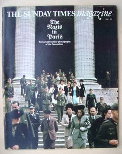 <!--1974-06-09-->The Sunday Times magazine - The Nazis in Paris cover (9 Ju
