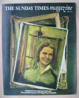 <!--1974-08-18-->The Sunday Times magazine - Rose Dugdale cover (18 August