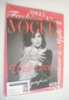 <!--2013-07-->German Vogue magazine - July 2013 - Linda Evangelista cover
