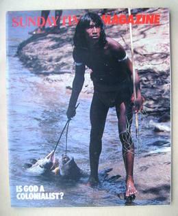 <!--1983-05-15-->The Sunday Times magazine - 15 May 1983