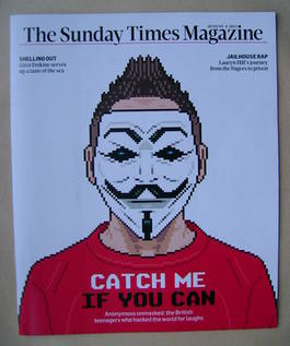 <!--2013-08-04-->The Sunday Times magazine - Catch Me If You Can cover (4 A
