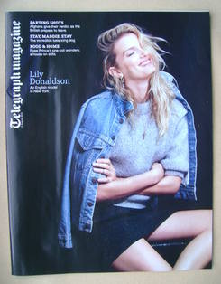 <!--2013-08-03-->Telegraph magazine - Lily Donaldson cover (3 August 2013)