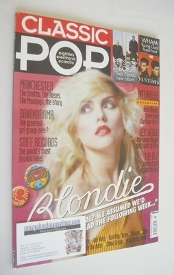 <!--2013-07-->Classic Pop magazine - Blondie cover (July/August 2013)