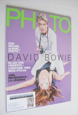 <!--2013-03-->PHOTO magazine - March 2013 - David Bowie and Kate Moss cover