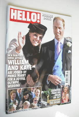 <!--2013-03-11-->Hello! magazine - Prince William and Kate Middleton cover