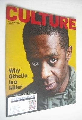 <!--2013-04-21-->Culture magazine - Adrian Lester cover (21 April 2013)
