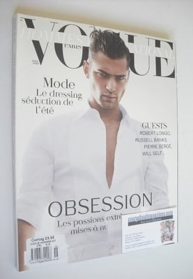 <!--2010-04-->Paris Vogue Hommes International magazine - Spring/Summer 201