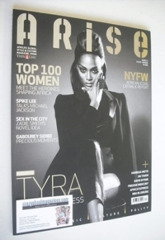 Arise magazine - Tyra Banks cover (Issue 17)