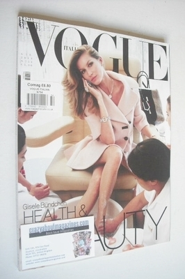 <!--2013-06-->Vogue Italia magazine - June 2013 - Gisele Bundchen cover