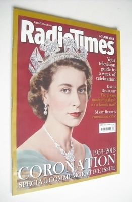 <!--2013-06-01-->Radio Times magazine - Queen Elizabeth II cover (1-7 June