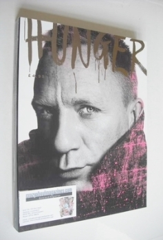 Hunger magazine - Daniel Craig cover (Issue 3)