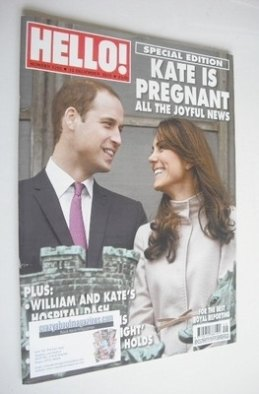<!--2012-12-10-->Hello! magazine - Prince William and Kate Middleton cover